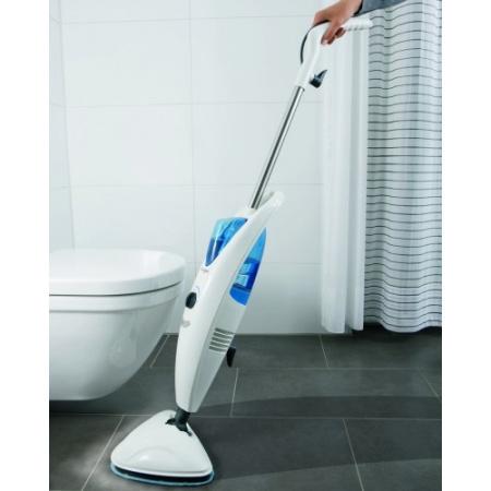 Dirt Devil AquaClean Mop parowy urządzenie do czyszczenia parą, białe/niebieskie M318