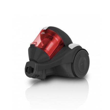 Dirt Devil Func-3 Odkurzacz bezworkowy z technologią Singlecyclone, czarny/czerwony DD 2820-3