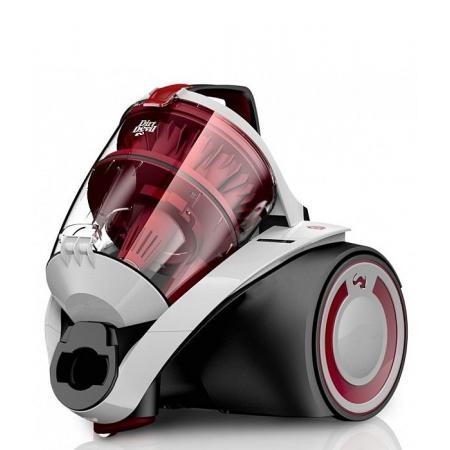 Dirt Devil Rebel 52HE EKO INFINITY Odkurzacz bezworkowy z technologią Multicyclone, biały DD 5550-0