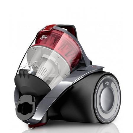Dirt Devil Rebel 52HF EKO INFINITY Odkurzacz bezworkowy z technologią Multicyclone, szary metalik DD 5550-3