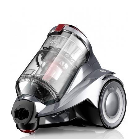 Dirt Devil Rebel 53HF EKO INFINITY Odkurzacz bezworkowy z technologią Multicyclone, szary metalik DD 5551-3