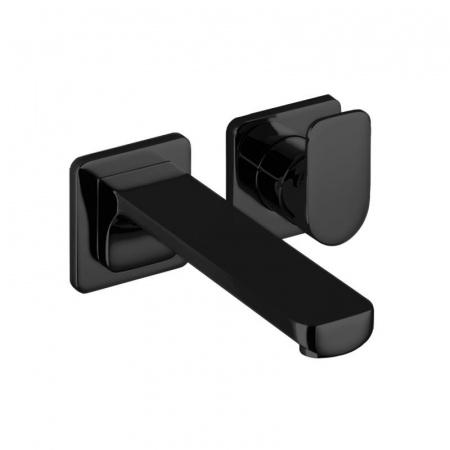 Dornbracht for Villeroy & Boch Cult Jednouchwytowa bateria umywalkowa podtynkowa z mieszaczem, bez korka automatycznego, czarna matowa 36812960-33