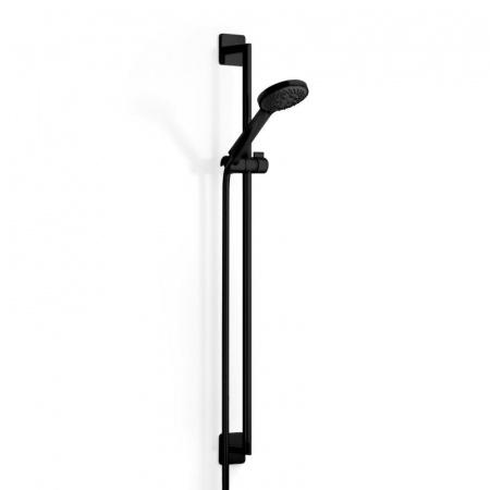 Dornbracht for Villeroy & Boch Cult Zestaw prysznicowy natynkowy, czarny matowy 26403960-33