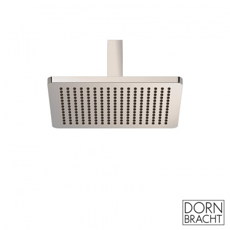Dornbracht for Villeroy & Boch Lulu Deszczownica sufitowa prostokątna 30x24 cm, platynowa matowa 28796710-06
