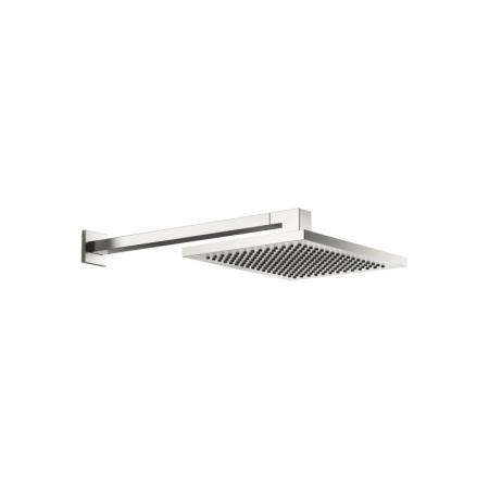 Dornbracht for Villeroy & Boch Symetrics Deszczownica ścienna prostokątna 30x24 cm, platynowa matowa 28765980-06