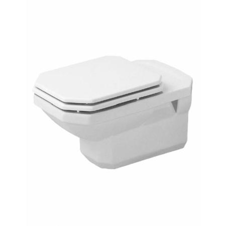 Duravit 1930 Miska WC podwieszana 35,5x58 cm, lejowa, biała z powłoką WonderGliss 01820900001