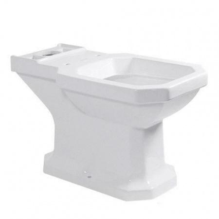 Duravit 1930 Miska WC stojąca 35,5x66,5 cm, lejowa, odpływ pionowy, biała z powłoką WonderGliss 02270100001
