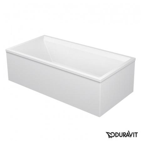 Duravit 2nd Floor Obudowa meblowa 169x69 cm, narożna lewa, biała 2F878682