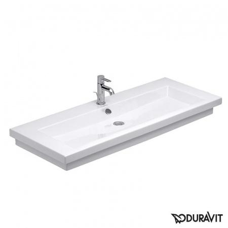 Duravit 2nd floor Umywalka meblowa 120x50,5 cm z jednym otworem na baterię, biały 0491120000