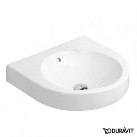 Duravit Architec Umywalka podwieszana 57,5x52 cm bez przelewu i otworu, biała 0449580000