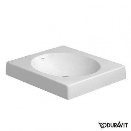 Duravit Architec Umywalka nablatowa 50x50 cm bez otworu na baterię biała 0320500000