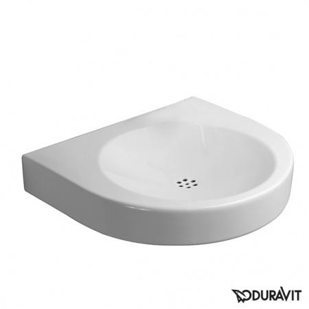 Duravit Architec Umywalka podwieszana Vital Med 57,5x52 cm bez przelewu, biała 0443580000