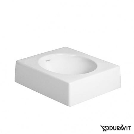 Duravit Architec Umywalka nablatowa 45x45 cm, bez otworu na baterię, biała 0320450000