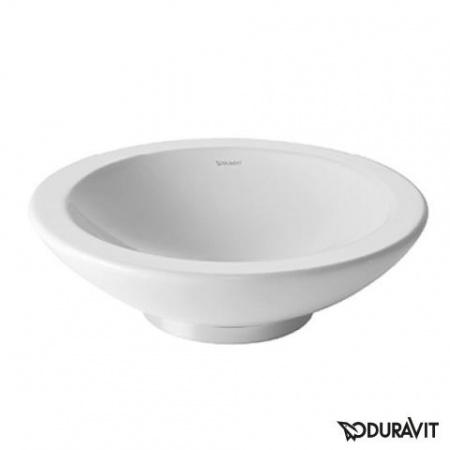 Duravit Bagnella Umywalka nablatowa Ø40 cm, bez przelewu, biała 0451400000