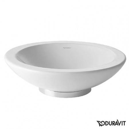 Duravit Bagnella Umywalka nablatowa Ø48 cm, bez przelewu, biała 0451480000