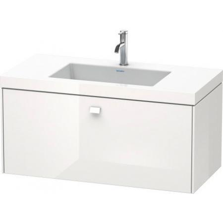 Duravit Brioso C-bonded Umywalka meblowa z szafką 100x48x50,2cm, wisząca biały mat BR46021818
