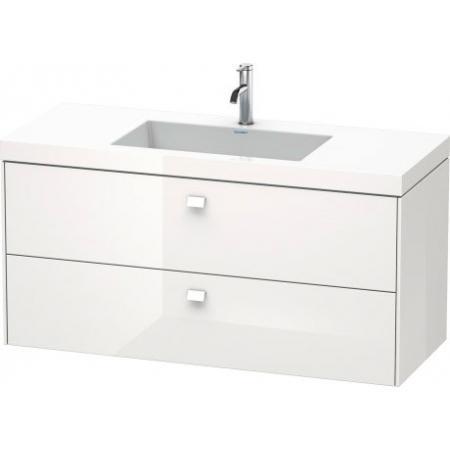 Duravit Brioso C-bonded Umywalka meblowa z szafką 120x48x61,3cm, wisząca biały mat BR46081818