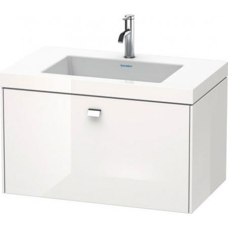 Duravit Brioso C-bonded Umywalka meblowa z szafką 80x48x50,2cm, wisząca biały mat BR46011818