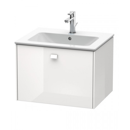 Duravit Brioso Szafka podumywalkowa 62x47,9x44,2 cm wisząca, biały połysk BR400102222