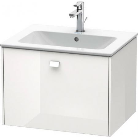 Duravit Brioso Szafka podumywalkowa 62x47,9x44,2 cm wisząca, biały mat BR4001L1818