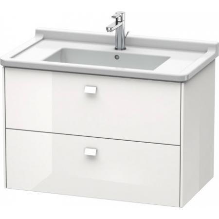 Duravit Brioso Szafka podumywalkowa 82x46,9x56,3 cm wisząca, biały mat BR41421818