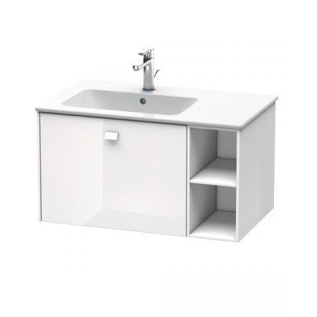 Duravit Brioso Szafka podumywalkowa 82x47,9x44,2 cm wisząca z półką boczną, biały połysk BR401202222