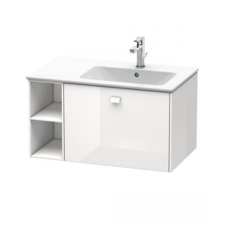 Duravit Brioso Szafka podumywalkowa 82x47,9x44,2 cm wisząca z półką boczną, biały połysk BR401402222