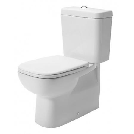 Duravit D-Code Toaleta WC kompaktowa 65x35,5 cm, biała 21180900002
