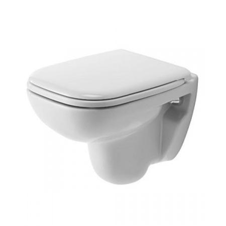 Duravit D-Code Toaleta WC podwieszana 48x35 cm Compact krótka HygieneGlaze, biała 22110920002
