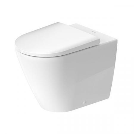 Duravit D-Neo Toaleta WC stojąca 58x37 cm bez kołnierza biała Alpin 2003090000