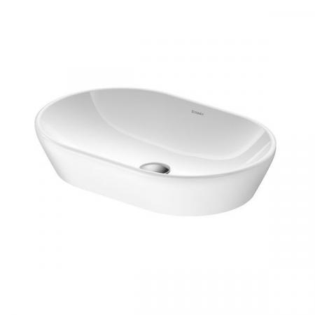 Duravit D-Neo Umywalka nablatowa 60x40 cm biała Alpin 2372600070