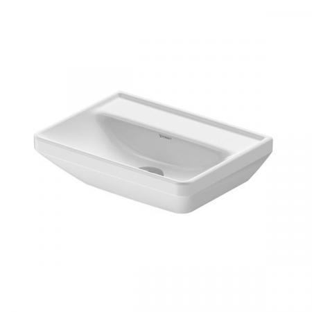 Duravit D-Neo Umywalka wisząca mała 45x33,5 cm bez otworu na baterię biała Alpin 0738450070