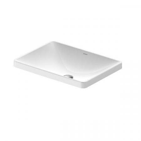 Duravit D-Neo Umywalka wpuszczana w blat 60x44 cm biała Alpin 0358600079
