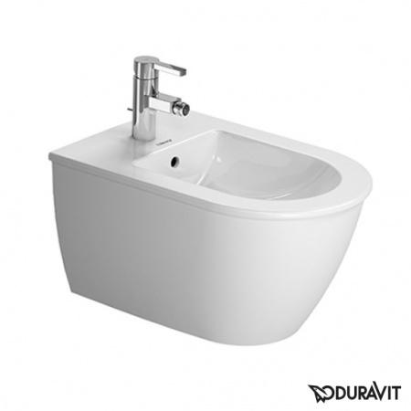 Duravit Darling New Bidet podwieszany 37x54 cm, z przelewem, biały 2249150000