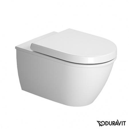 Duravit Darling New Miska WC podwieszana 37x54 cm, lejowa, biała z powłoką WonderGliss 25450900001