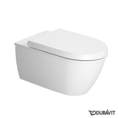 Duravit Darling New Miska WC podwieszana 37x62 cm, lejowa, biała z powłoką WonderGliss 25440900001