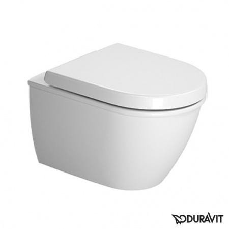 Duravit Darling New Toaleta WC podwieszana 36x48,5 cm Compact krótka z powłoką WonderGliss, biała 25490900001