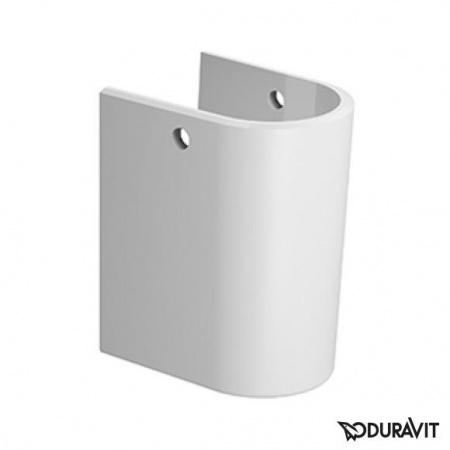 Duravit Darling New Półpostument 18x23 cm, biały z powłoką WonderGliss 08582600001