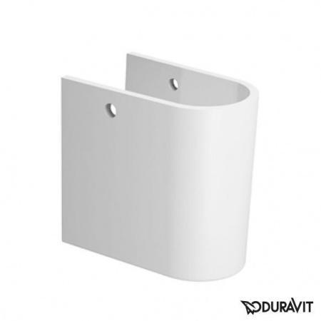 Duravit Darling New Półpostument 18x30 cm, biały z powłoką WonderGliss 08582500001