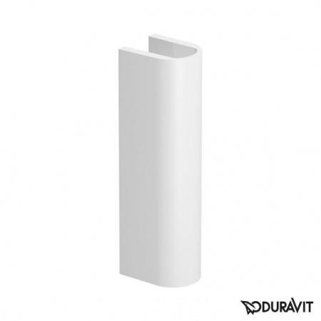 Duravit Darling New Postument 17,5x22 cm, biały z powłoką WonderGliss 08582400001