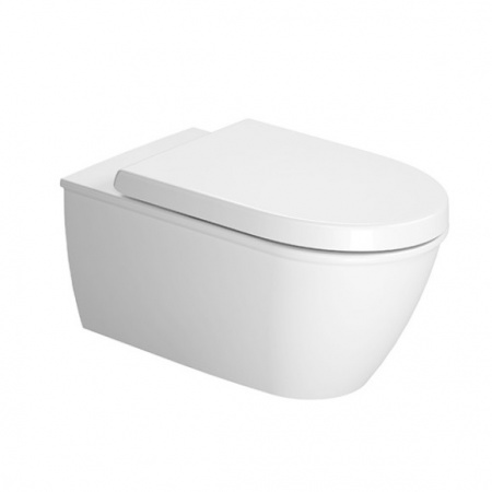 Duravit Darling New Toaleta WC podwieszana 37x62 cm HygieneGlaze, biała 2544092000
