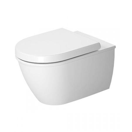 Duravit Darling New Toaleta WC podwieszana 54x37 cm Rimless bez kołnierza HygieneGlaze, biała 2557092000