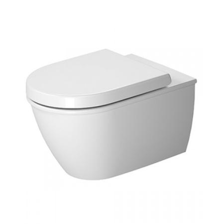 Duravit Darling New Toaleta WC podwieszana 57x37 cm Rimless bez kołnierza HygieneGlaze, biała 2563092000