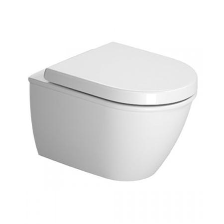 Duravit Darling New Toaleta WC podwieszana 48,5x36 cm Compact krótka HygieneGlaze, biała 2549092000