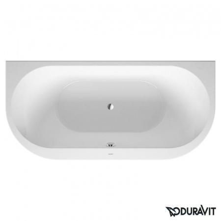 Duravit Darling New Wanna owalna przyścienna 190x90 cm, biała 700248000000000