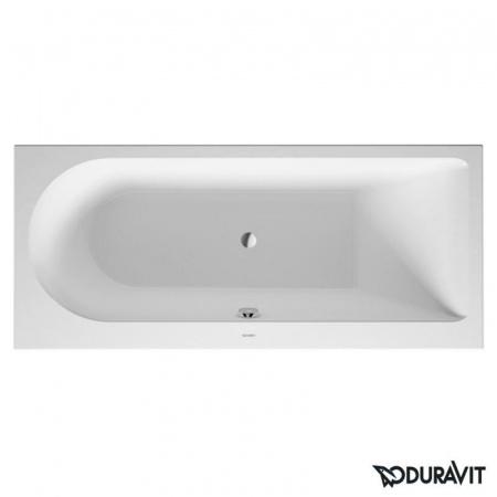 Duravit Darling New Wanna prostokątna 160x70 cm, prawa, biała 700239000000000