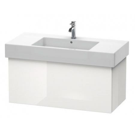 Duravit Delos Szafka podumywalkowa 100x44,8 cm wisząca 1 szuflada, biały połysk DL622108585