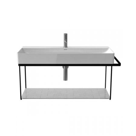 Duravit DuraSquare Konsola wisząca do umywalki metalowa, czarny mat 0031044600