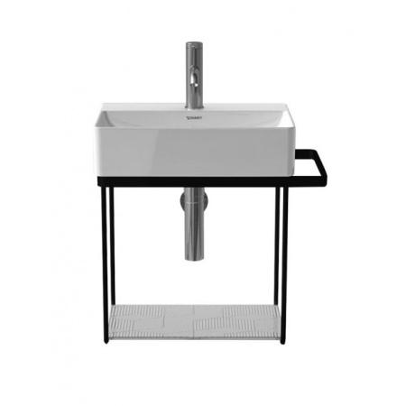 Duravit DuraSquare Konsola wisząca do umywalki metalowa, czarny mat 0031104600