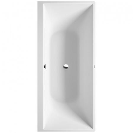 Duravit DuraSquare Wanna prostokątna przyścienna 180x80 cm z obudową, biała 70042900000000